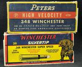 Peters and Winchester 348 Winchester (2 boxes)