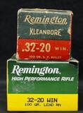 Remington 32-20 100 Gr. Sp & 100 Gr. LRN (2 boxes)