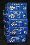 PPU 7,62x54 R 150 Gr. SP (5 boxes)