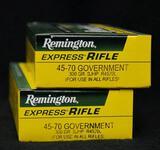 Remington 45-70 Government 300 Gr. SJHP (2 boxes)
