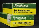 Remington 30 Remington 170 Gr. Core Lokt (2 boxes of 20)