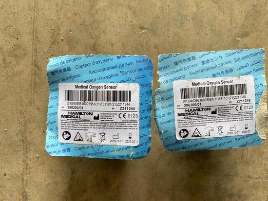 Hamilton Medical Medical Oxygen Sensor 396200/01 *expired