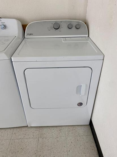 Whirlpool 7.0-cu ft Vented Electric Dryer - White