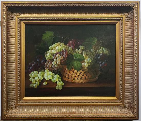 John F. Francis - Antique Oil Canvas