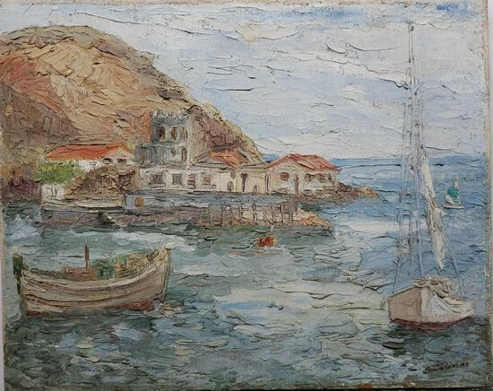Antique Painting - North American / Contemporary: Salinas