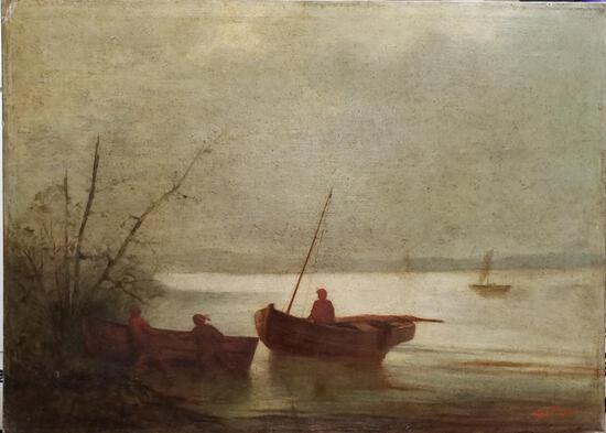 Norton Bush - Landspcape / Oil Canvas