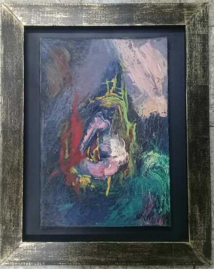 Asger Jorn - Antique Oil Painting Abstract