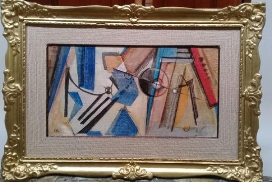 Abstraction Art- Oil Canvas Kandinsky