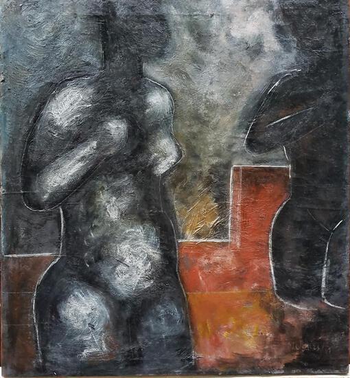 Fine Contemporary Master Armando Morales / Oil Canvas