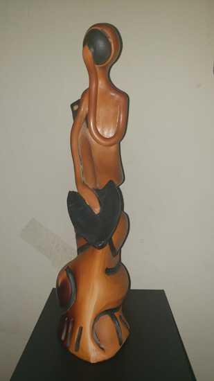 In the manner of Dali - Ceramic Sculpture