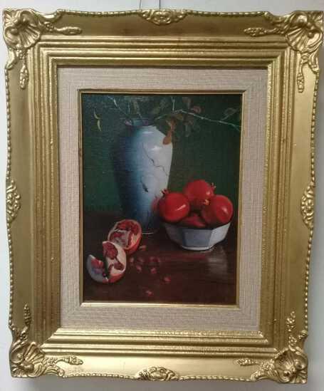 Odilon Redon - Still Life Oil Canvas Painting