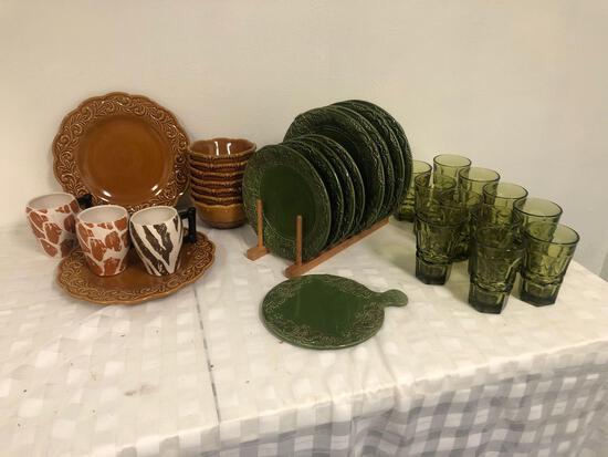 Nice dish collection