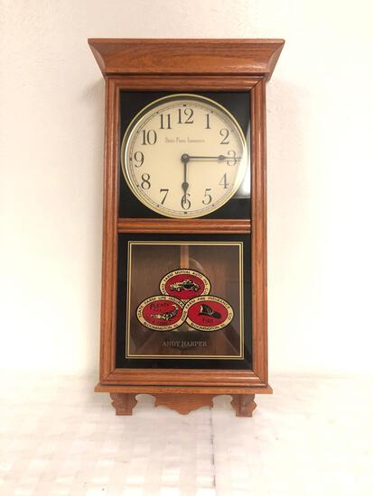 State Farm insurance collectible clock