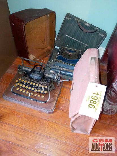 3 typewriters