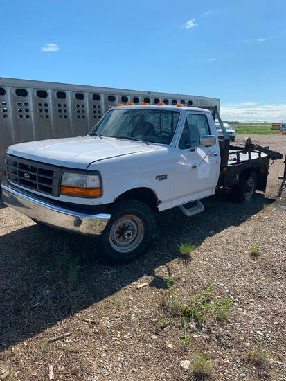 1997 Ford F250 4x4 bale truck