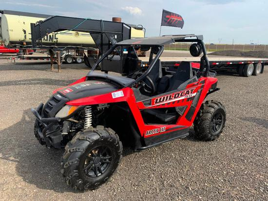 2016 Arctic Cat Wildkat Trail 4x4 700 Side by Side