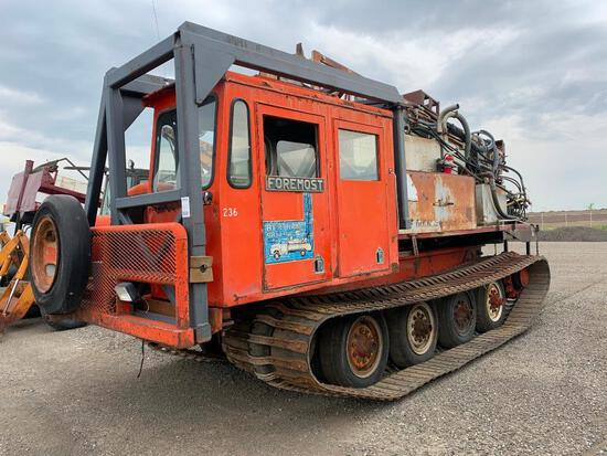 Foremost Nodwell 110 Auger Exploration Drilling Rig