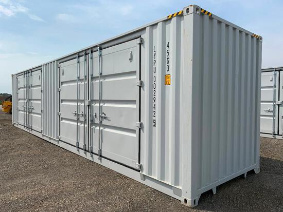 Single Use 40' High Cube Sea Container