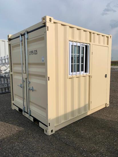 Single Use 9' Standard Sea Container