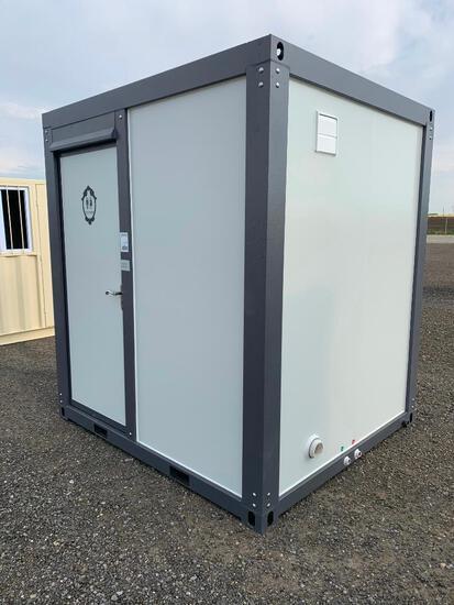 Unused Mobile Bathroom with Shower