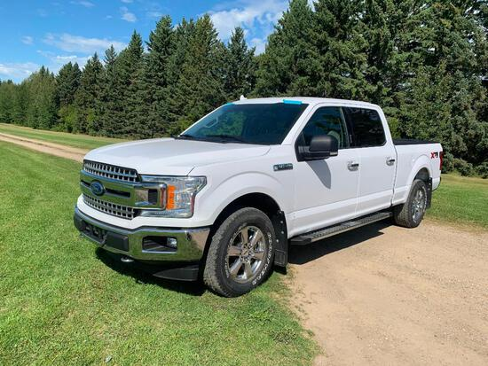 2018 Ford F-150 XTR Crew 4x4 Pick-up Truck