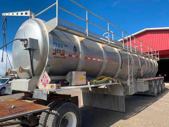 2014 Dragon 42M3 Conical TL Tridem Tank Trailer