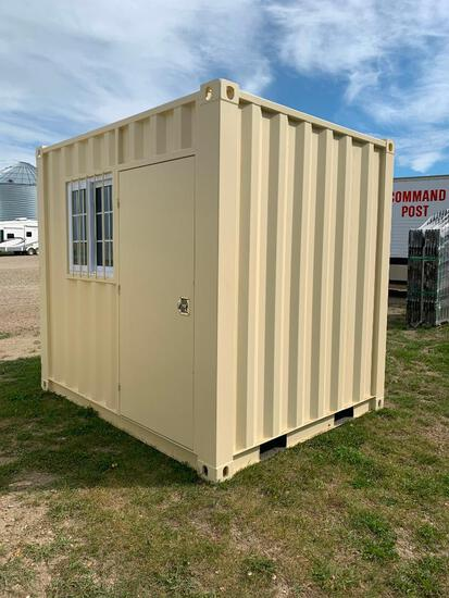 Single Use 9' Standard Sea Container
