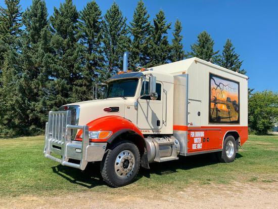 2015 Peterbilt 348 S/A Potable Water Truck