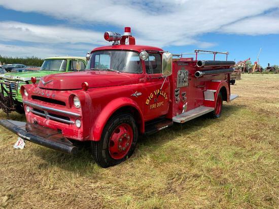 1957 Dodge 700 Firetruck