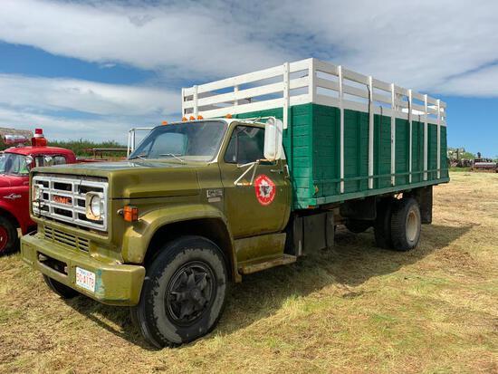 1974 GMC 6500 S/A Grain Truck