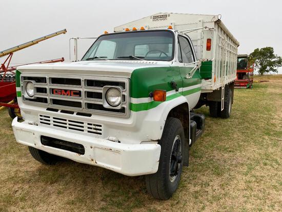 1980 GMC 6500 S/A Grain Truck