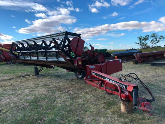 Case 8210 21' Pull-Type Swather