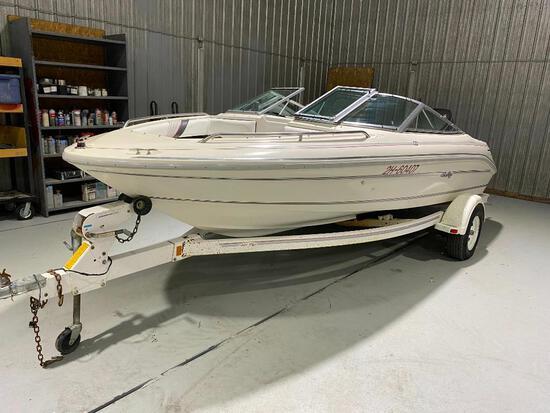 1994 Sea Ray Boat w. S/A trailer