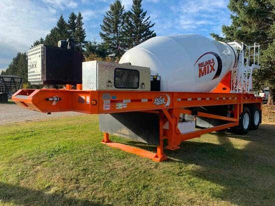 Unused 2019 Street Fighter Self-Contained T/A Concrete Mixer Trailer
