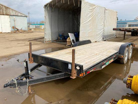 2015 Double A 20' Trail Pro Tandem Axle Bumper Pull Trailer