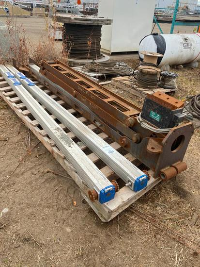 Unused Magnetic Pipe Handler (Rig Arm)