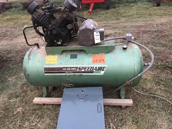 Speedaire 3-Phase 120 Gallon Air Compressor
