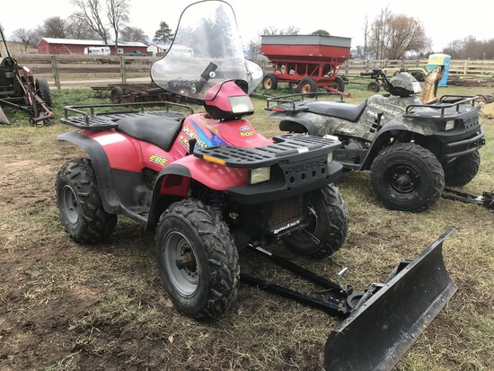 Polaris Sportsman 500 Quad w/Snow Plow