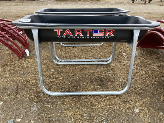 5' Poly Equine Bunk Feeder (new)