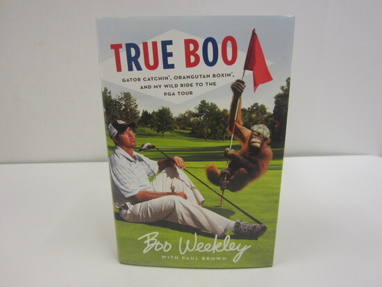 Boo Weekley Signed Autographed Book True Boo