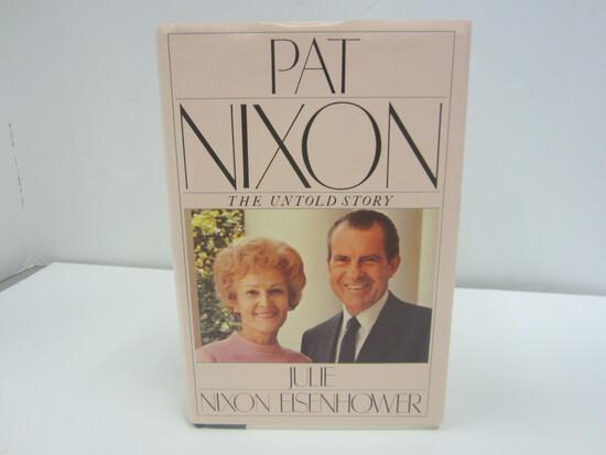 Julie Nixon Eisenhower Signed Autographed Book Pat Nixon the Untold Story