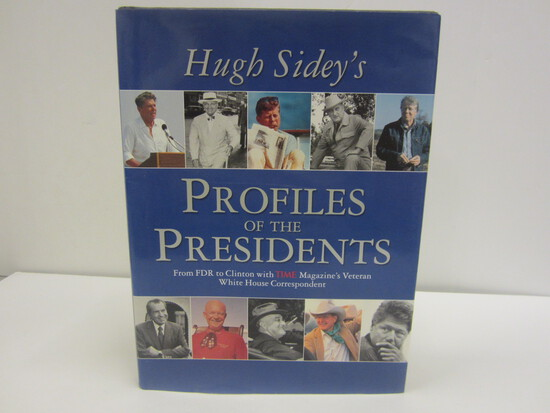 Hugh Sideys Signed Autographed Book Profiles of the Presidents