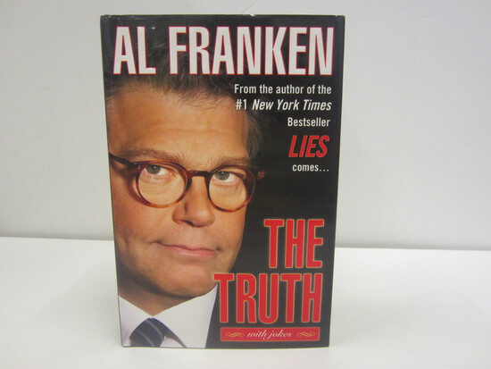 Al Franken Signed Autographed Book The Truth