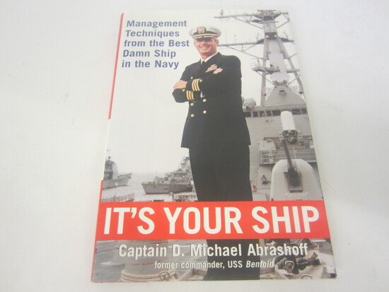 SIGNED AUTOGRAPH BOOK IT'S YOUR SHIP