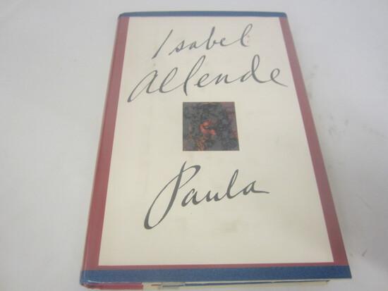 ISABEL ALLENDE SIGNED AUTOGRAPH BOOK PAULA