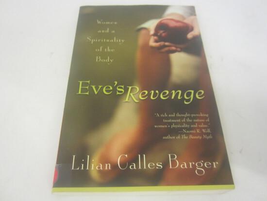LILIAN CALLES BARGER SIGNED AUTOGRAPH BOOK EVES REVENGE