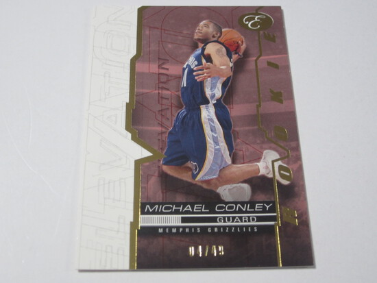 2008 TOPPS ELEVATION SERIAL NUMBERED ROOKIE BASKETBALL CARD MICHAEL CONLEY MEMPHIS GRIZZLIES