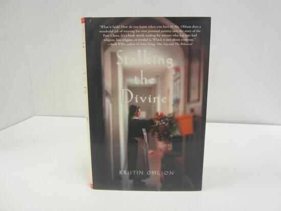 KRISTIN OHLSON SIGNED AUTOGRAPH BOOK STALKING THE DEVINE