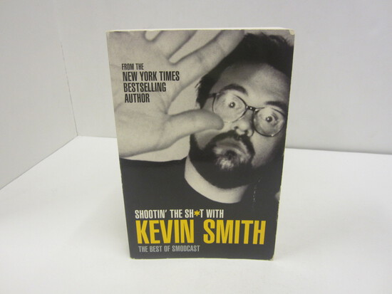KEVIN SMITH SIGNED AUTOGRAPH BOOK SHOOTING THE SH*T WITH KEVIN SMITH