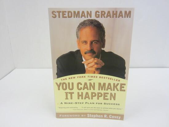 STEDMAN GRAHAM SIGNED AUTOGRAPH BOOK YOU CAN MAKE IT HAPPEN